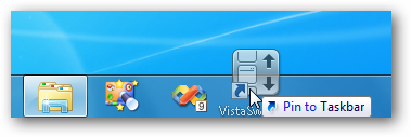 VistaSwitcher - Pin to Taskbar