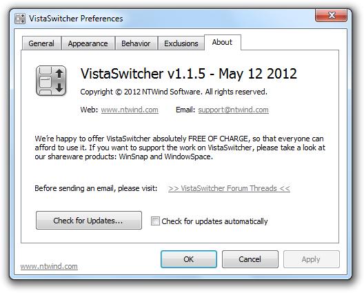 VistaSwitcher v1.1.5