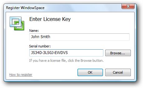 Enter License Key