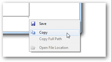 Right-Click Menu - Save/Copy Screenshot