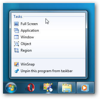 Windows 7 - Task List